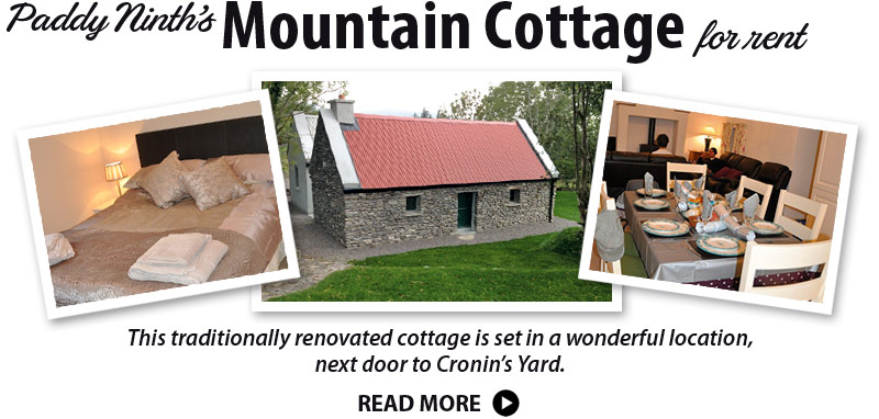 Mountain Cottage for rent Cronin's Yard